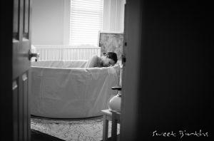 NJ Birth Photography - Birth of Baby B